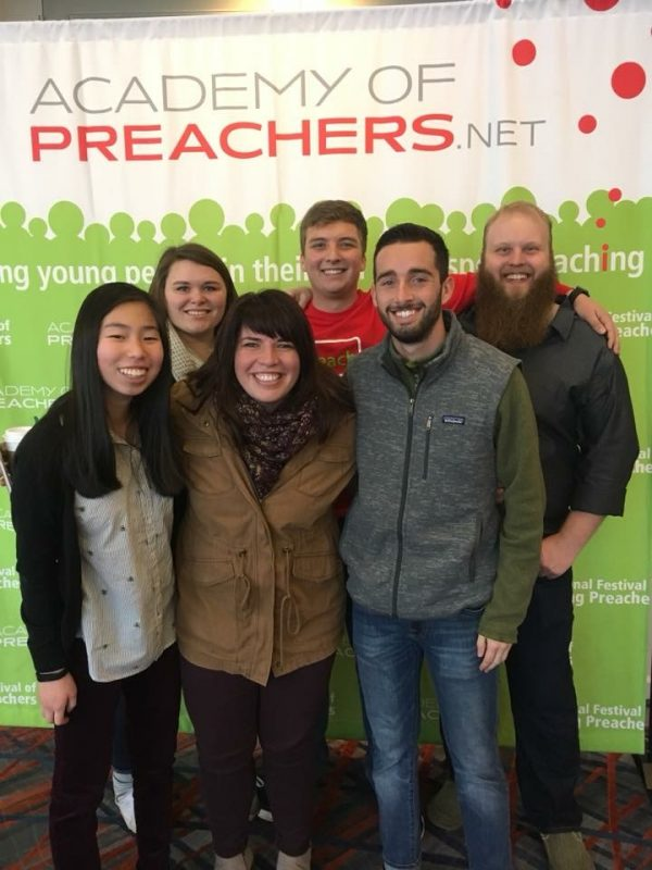 Students at the National Festival of Young Preachers