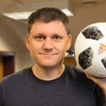 Dr. John Eric Goff World Cup ball