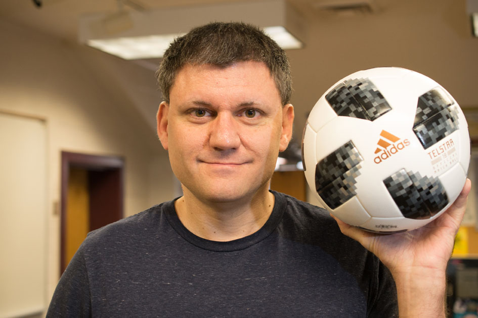 'University of Lynchburg' name goes worldwide with World Cup