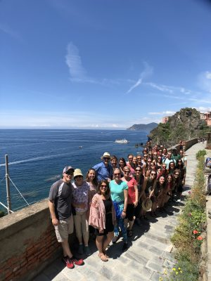 DPT students in Italy