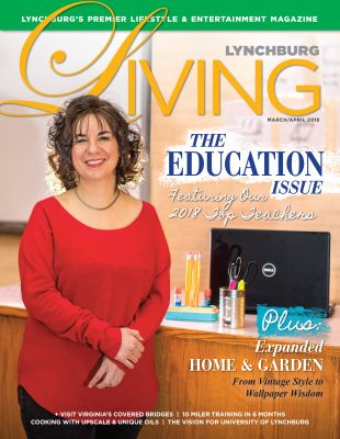 Cover of Lynchburg Living Education issue