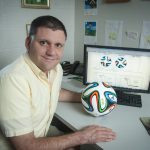 Lynchburg professor explains the physics of football (and futball) for sports podcast