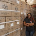 Student takes aim at world hunger with nonprofit internship