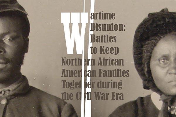 Lecture examines Civil War-era Black, Northern families