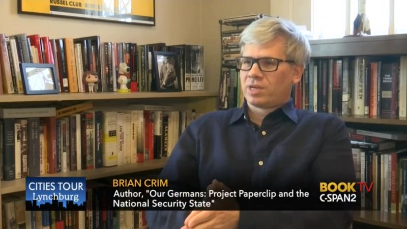 History professor Brian Crim appears on C-SPAN