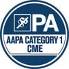 AAPA Category 1 CME logo
