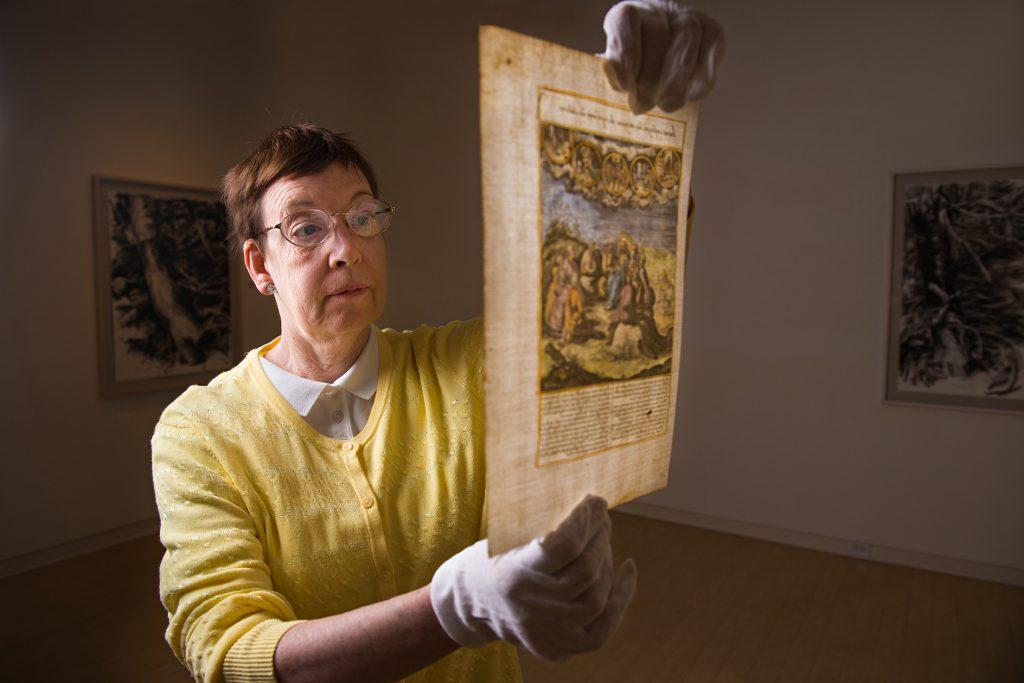 Latin professor translates Renaissance-era folios for exhibit