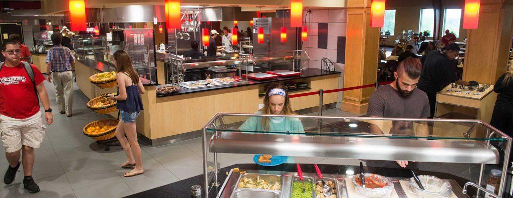 Renovated Burton Dining Hall 2017