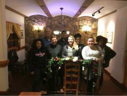 Latin Club dinner participants