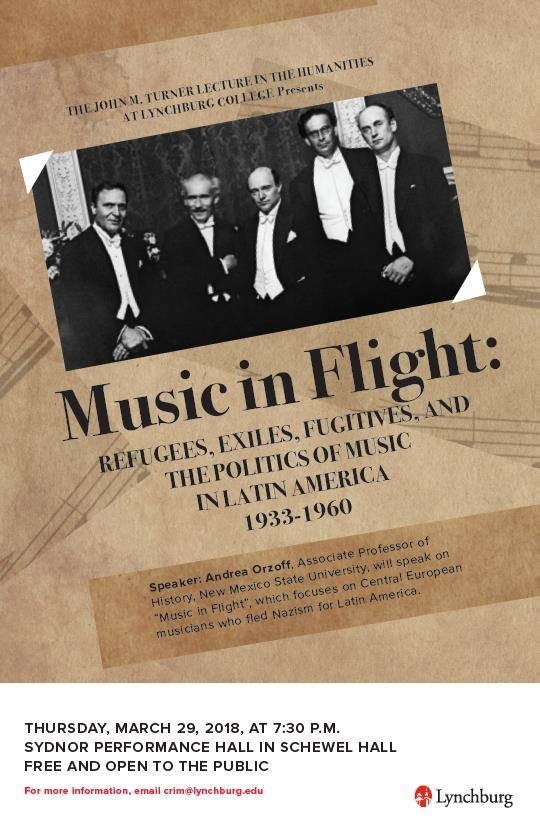 Music in Flight poster