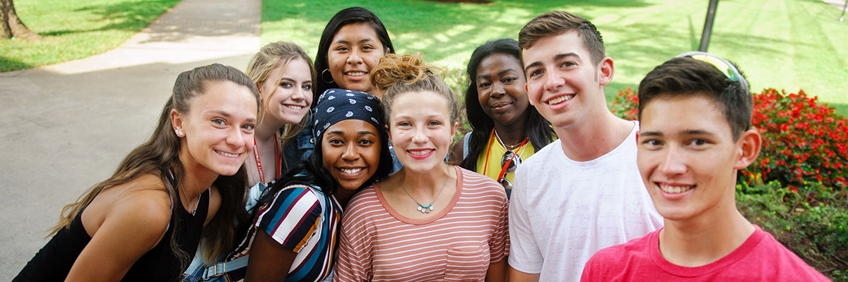 Students at the Summer Transition Program