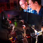 Student investigates magnetism with lasers