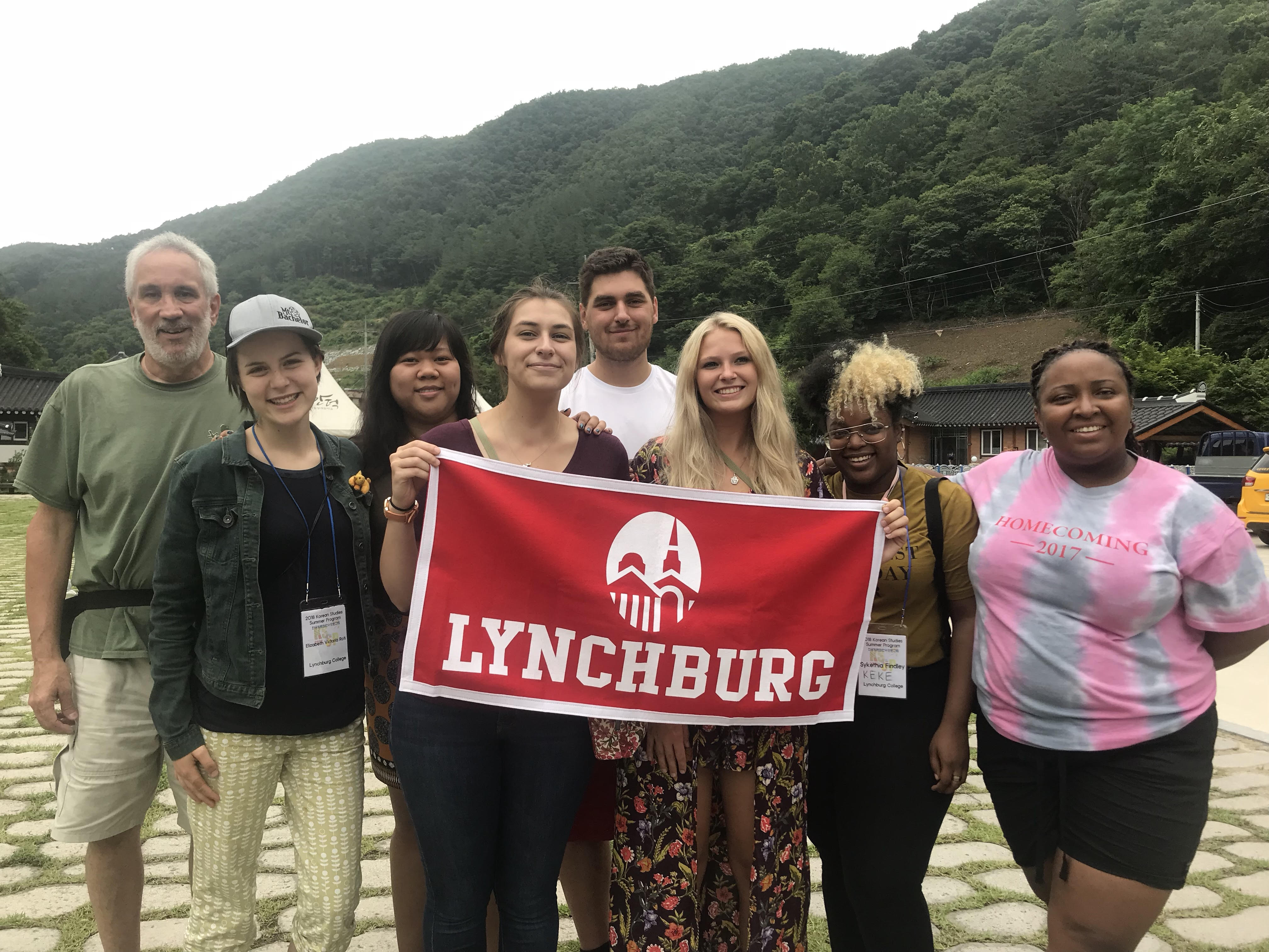 Students travel to South Korean 'sister school'