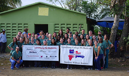 MPAM students in the Dominican Republic on a medical mission trip